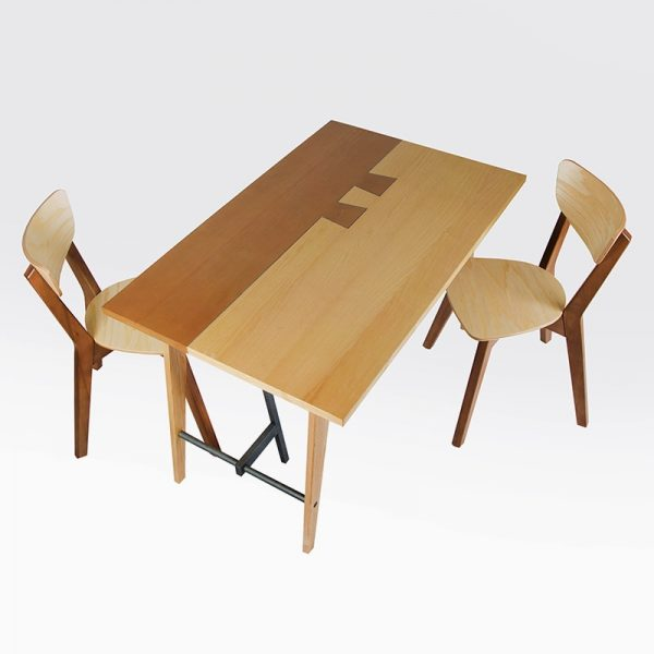 Стол Дублин Микс Мебель со стульями