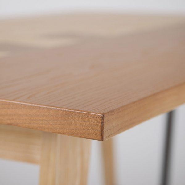 Кромка столешницы стола Дублин Микс Мебель