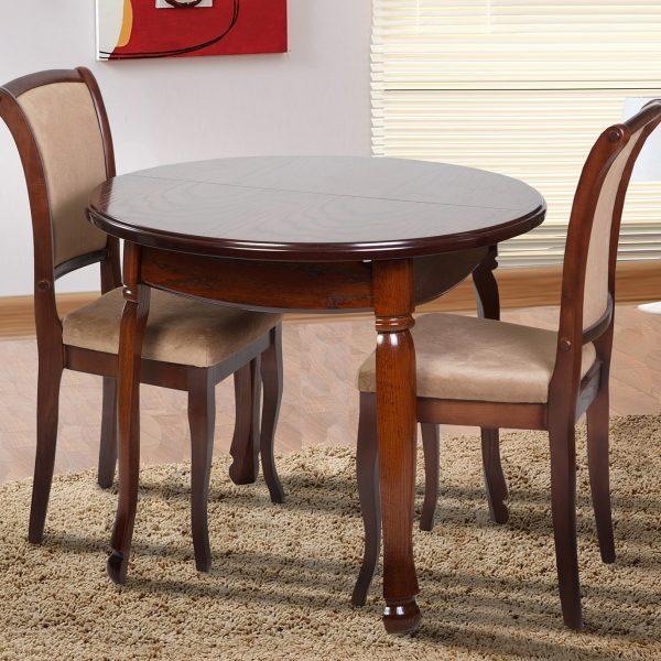 Стол Гаити Круглый Микс Мебель со стульями