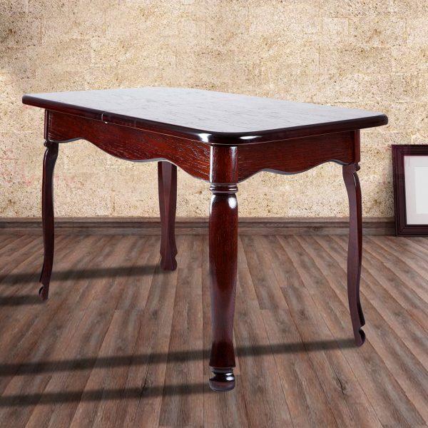 Стол Гаити Микс Мебель темный орех в интерьере
