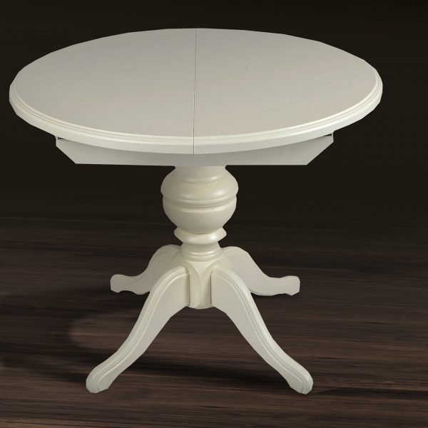 Стол Гермес Микс мебель белый сложенный