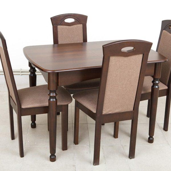 Поло Микс Мебель со стульями сложенный