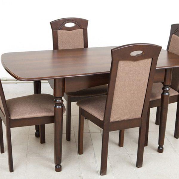 Поло Микс Мебель со стульями разложенный