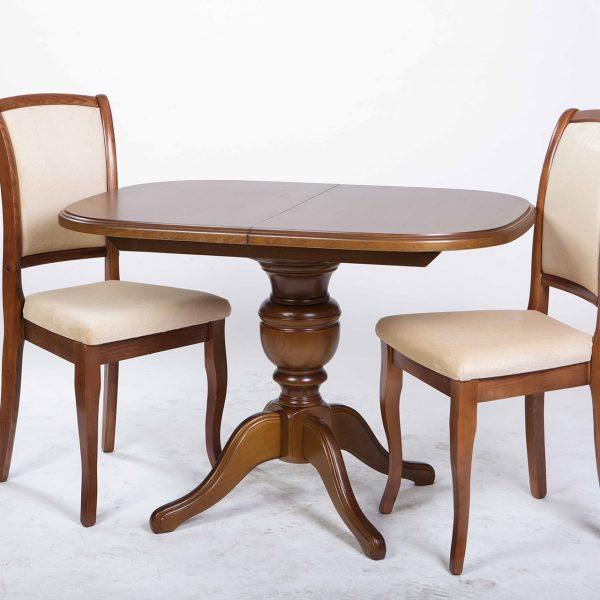 Стол Триумф Микс Мебель с темными стульями