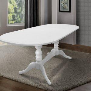Стол Вавилон Микс Мебель белый боком