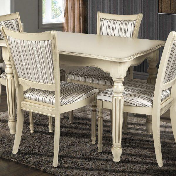 Стол Венеция Микс Мебель со стульями