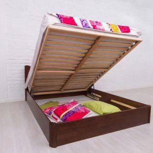 Кровать Айрис Микс Мебель с подъемным механизмом открытая