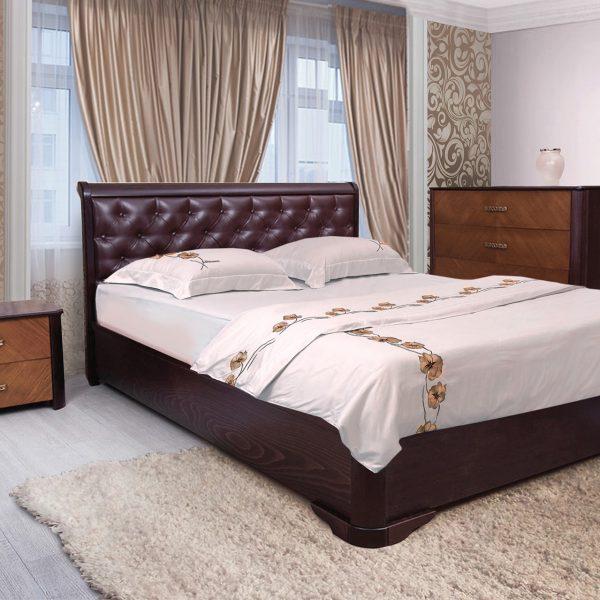 Кровать Ассоль Микс Мебель ромбы в интерьере