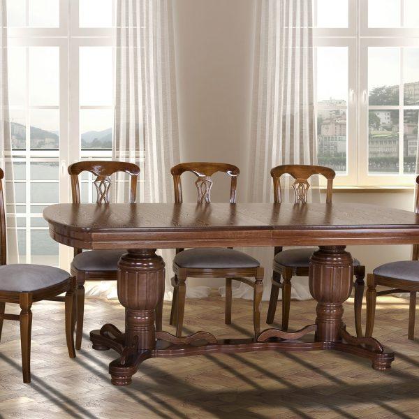 Стол Барон Микс Мебель боком со стульями