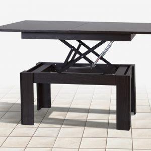 Стол трансформер Баттерфляй Микс Мебель разложенный