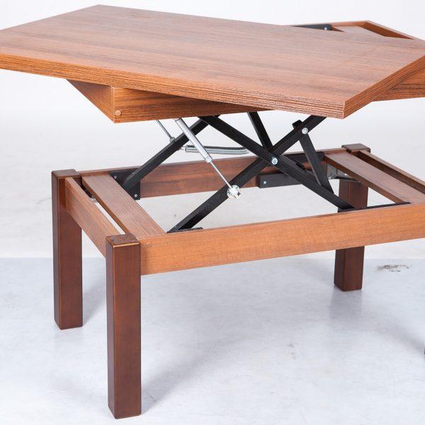 Стол трансформер Флай Микс Мебель реальное фото расклаывания