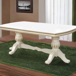 Стол Граф Микс Мебель слоновая кость