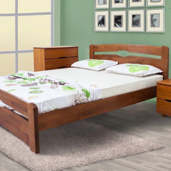 Кровать Каролина Микс мебель с изножьем