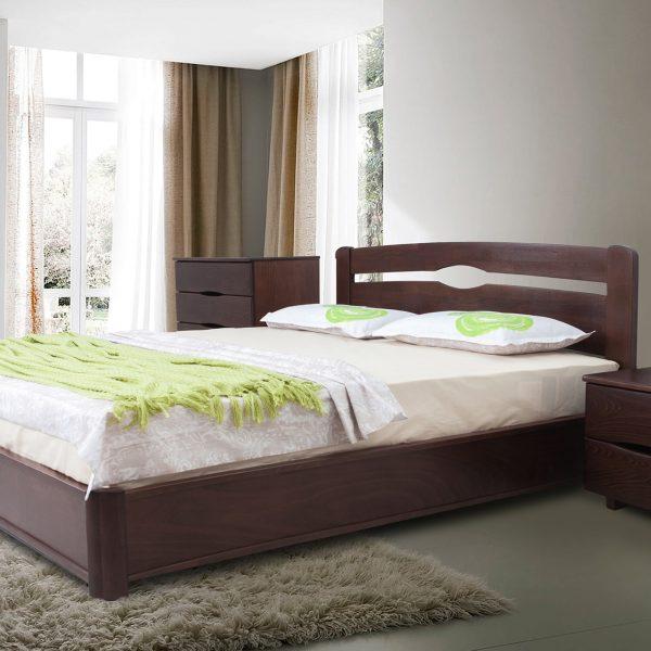Кровать Каролина Микс Мебель с подъемным механизмом в интерьере