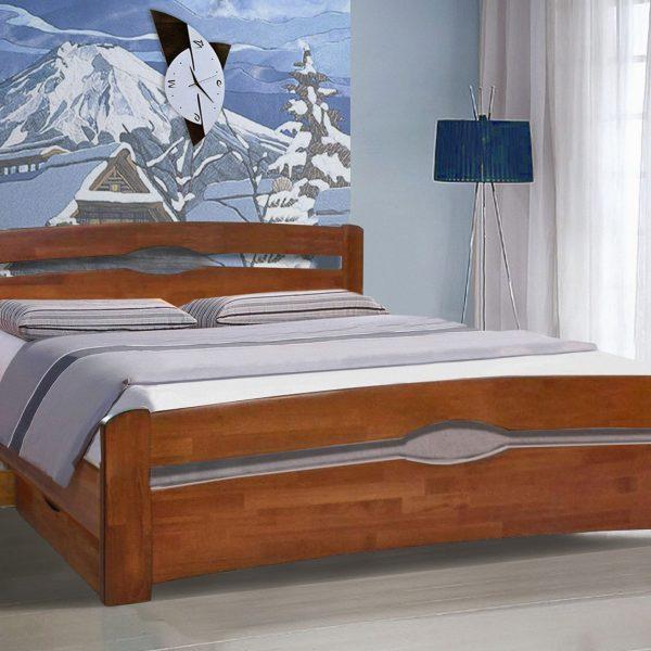 Кровать Каролина Микс Мебель с ящиками