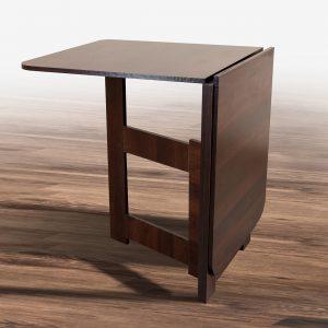 Стол трансформер Книжка Light Микс Мебель собран темный орех