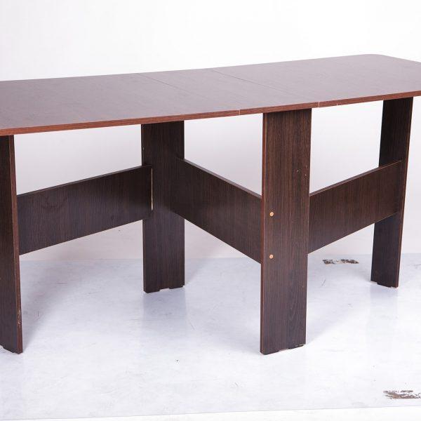 Стол трансформер Книжка Микс Мебель реальное фото темный орех