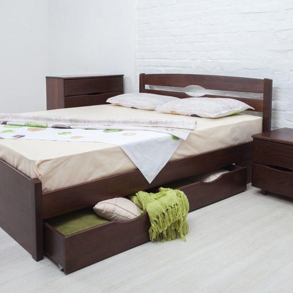 Кровать Ликерия Люкс Микс мебель с ящиками