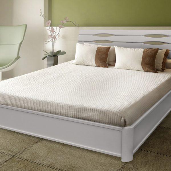 Кровать Мария с подъемным механизмом белая
