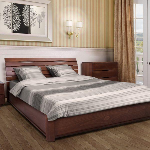 Кровать Мария с подъемным механизмом в интерьере
