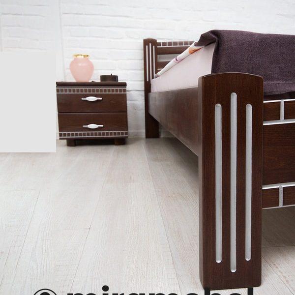 Кровать Пальмира Микс Мебель ножка