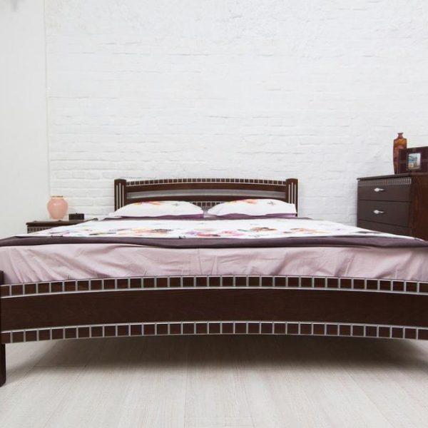 Кровать Пальмира Микс Мебель спереди