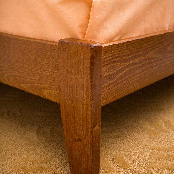 Кровать Сити Микс Мебель без изножья ножка светлая