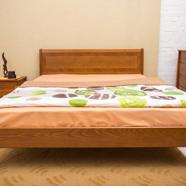 Кровать Сити Микс Мебель без изножья прямо светлая