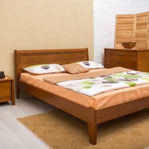 Кровать Сити Микс Мебель без изножья светлая