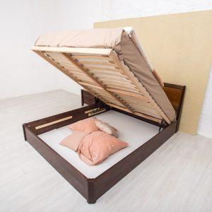 Кровать Сити Микс Мебель с подъёмным механизмом раскрытая
