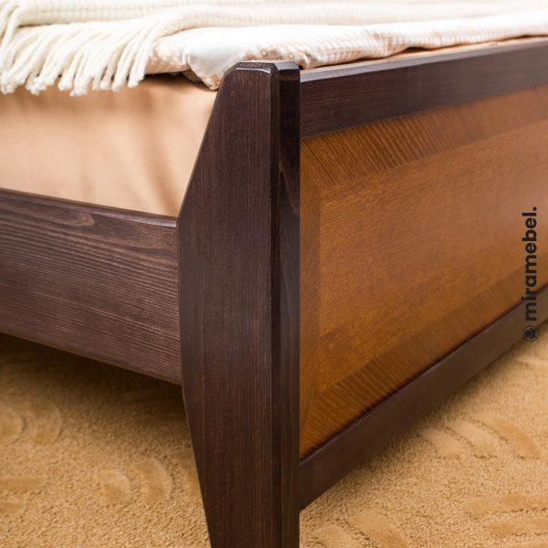 Кровать Сити Микс Мебель с изножьем ножки