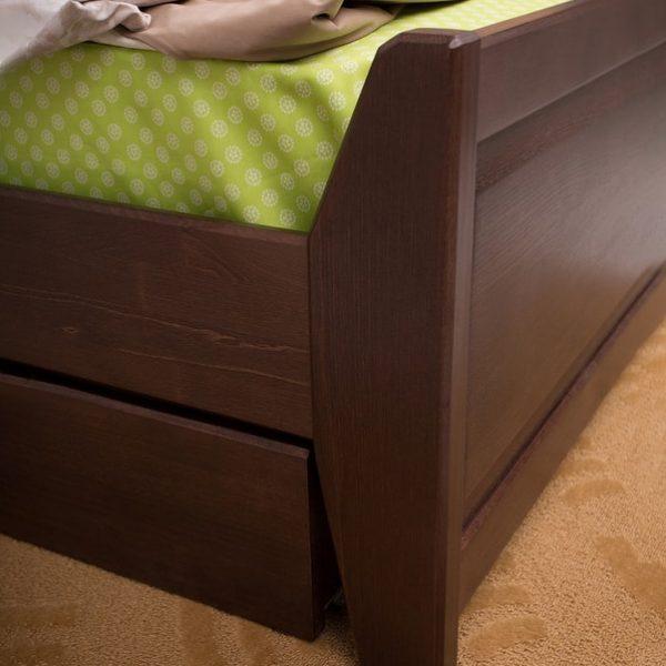 Кровать Сити Микс Мебель с ящиками ножки