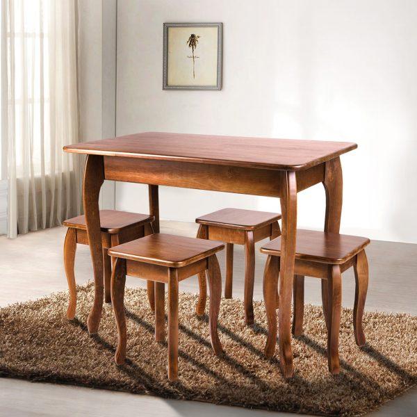 Стол обеденный Смарт Микс Мебель темный