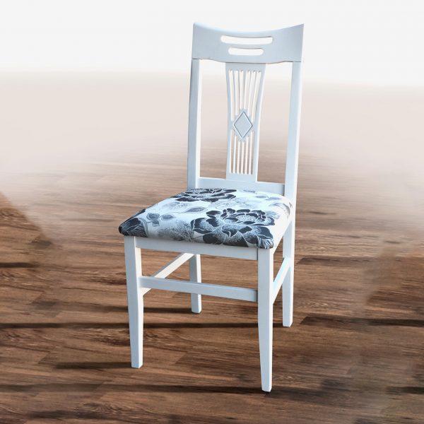 Стул Юля Микс Мебель с твердой спинкой бежевая ткань