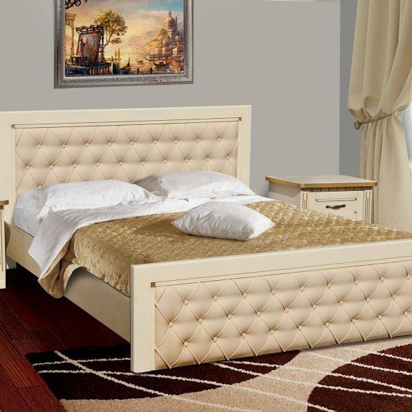 Кровать Freedom Микс Мебель слоновая кость