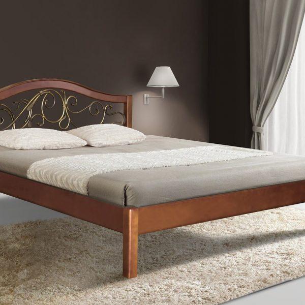 Кровать Илона Микс Мебель орех
