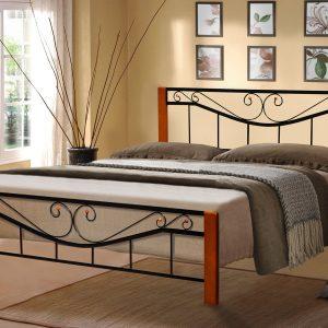 Кровать Милениум Вуд Микс Мебель боком