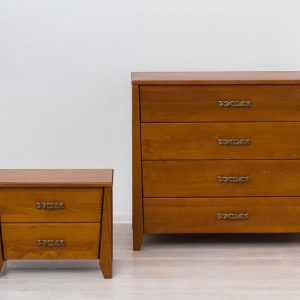 Комод и тумба Сити Микс мебель светлый орех