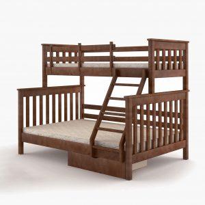 Кровать Скандинавия Микс Мебель