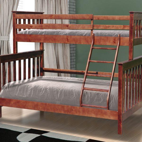Кровать Скандинавия Микс Мебель двухъярусная