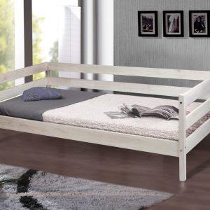 Кровать Sky-3 Микс Мебель беленый дуб