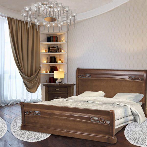 Кровать Шопен Микс Мебель в интерьере