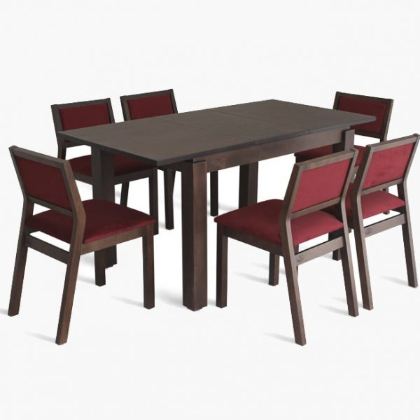 Стол Марко Марко Мебель орех со стульями