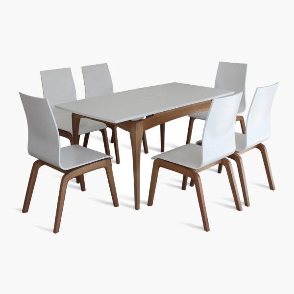 Стол NaVi Марко Мебель стулья белые
